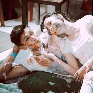 Gambar intimate nora danish dan adiputra, gambar mesra nora danish dengan adi putra, #akuterimanikahnya, novel aku terima nikahnya