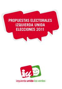Programa electoral elecciones generales 2011 IU