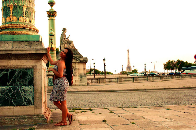 Travel Photos Marjolyn Lago indulging the Sunset in Paris France