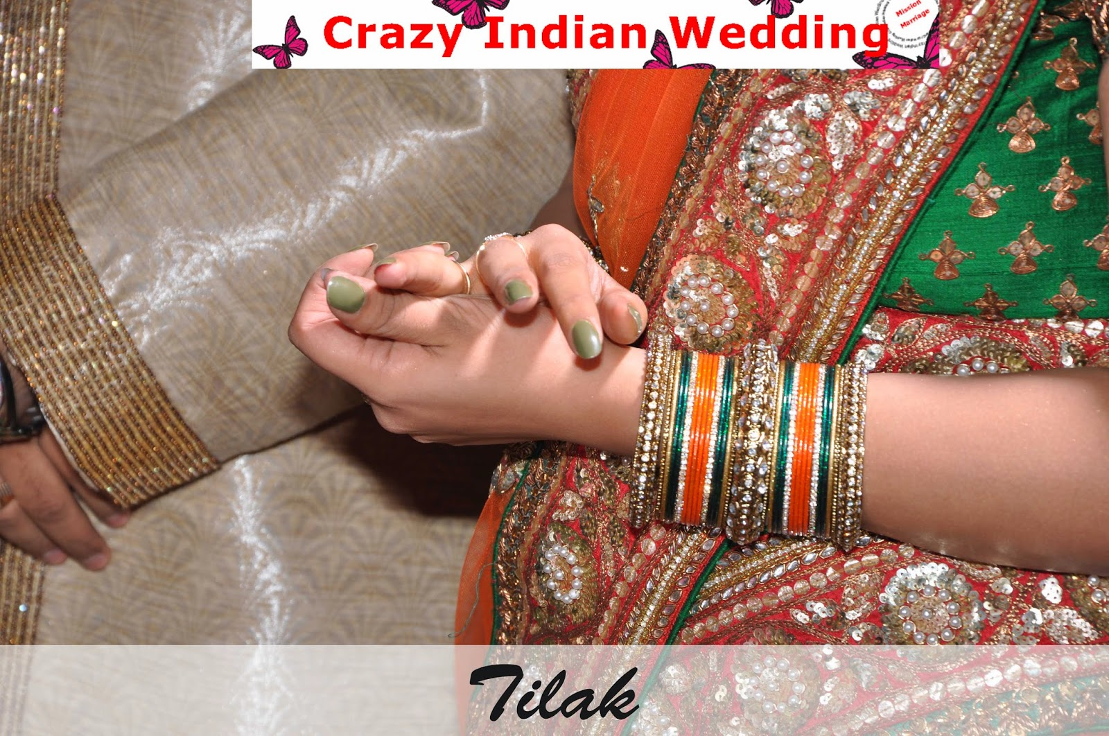 Tilak crazy indian wedding
