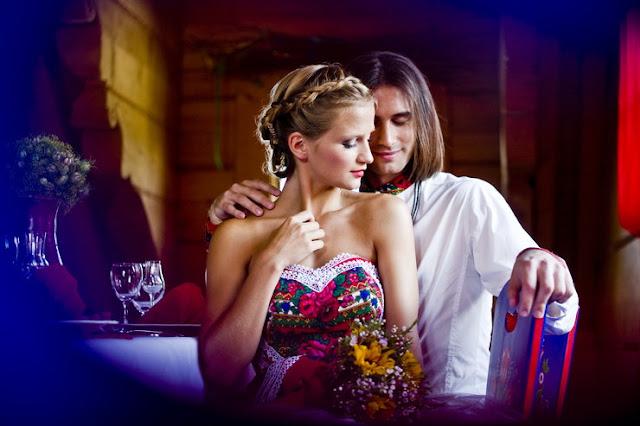 Ślub i wesele w stylu folk