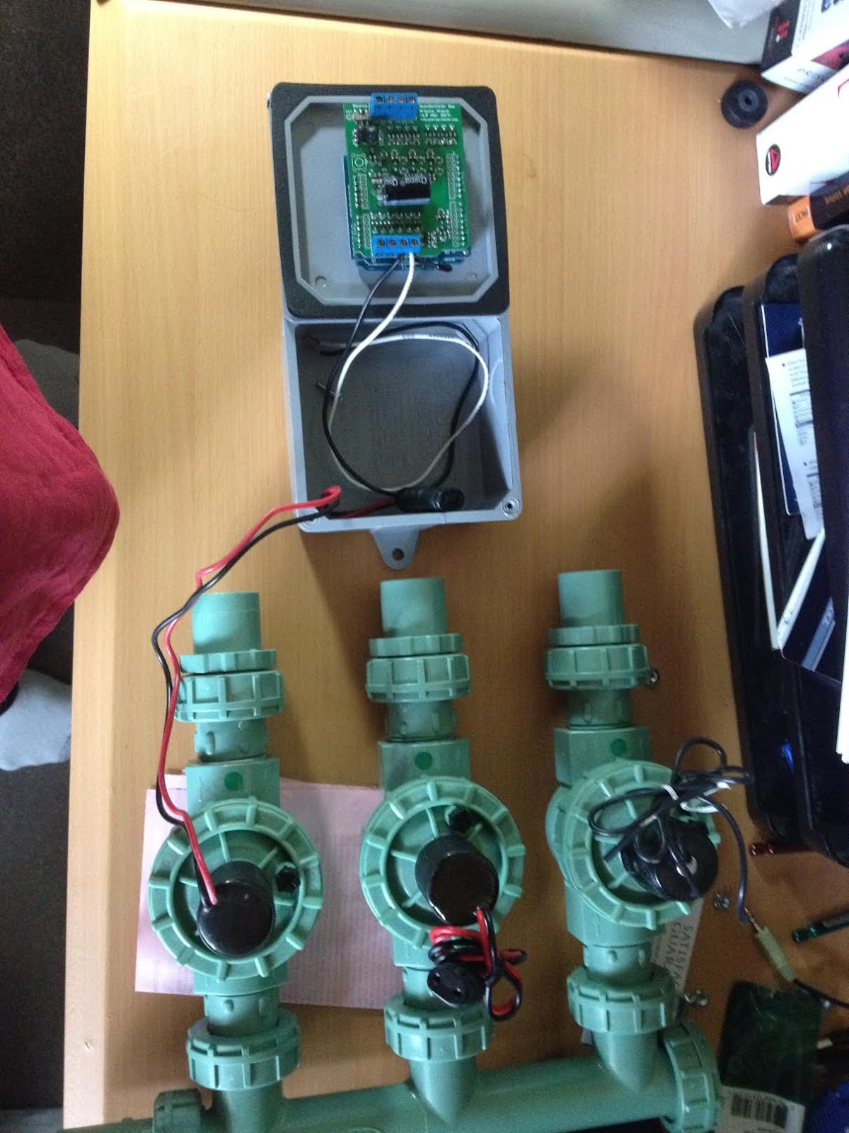 Desert Home Arduino Controlled Sprinklers and A Guest Speaker