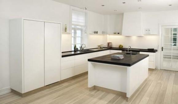Diseño de Cocina de color Blanco con un toque Escandinavo | Cómo ...
