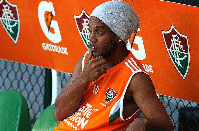 Ronaldinho Gaúcho reencontrará o ex-clube, Atlético-MG, neste domingo (Foto: Nelson Perez/FFC)