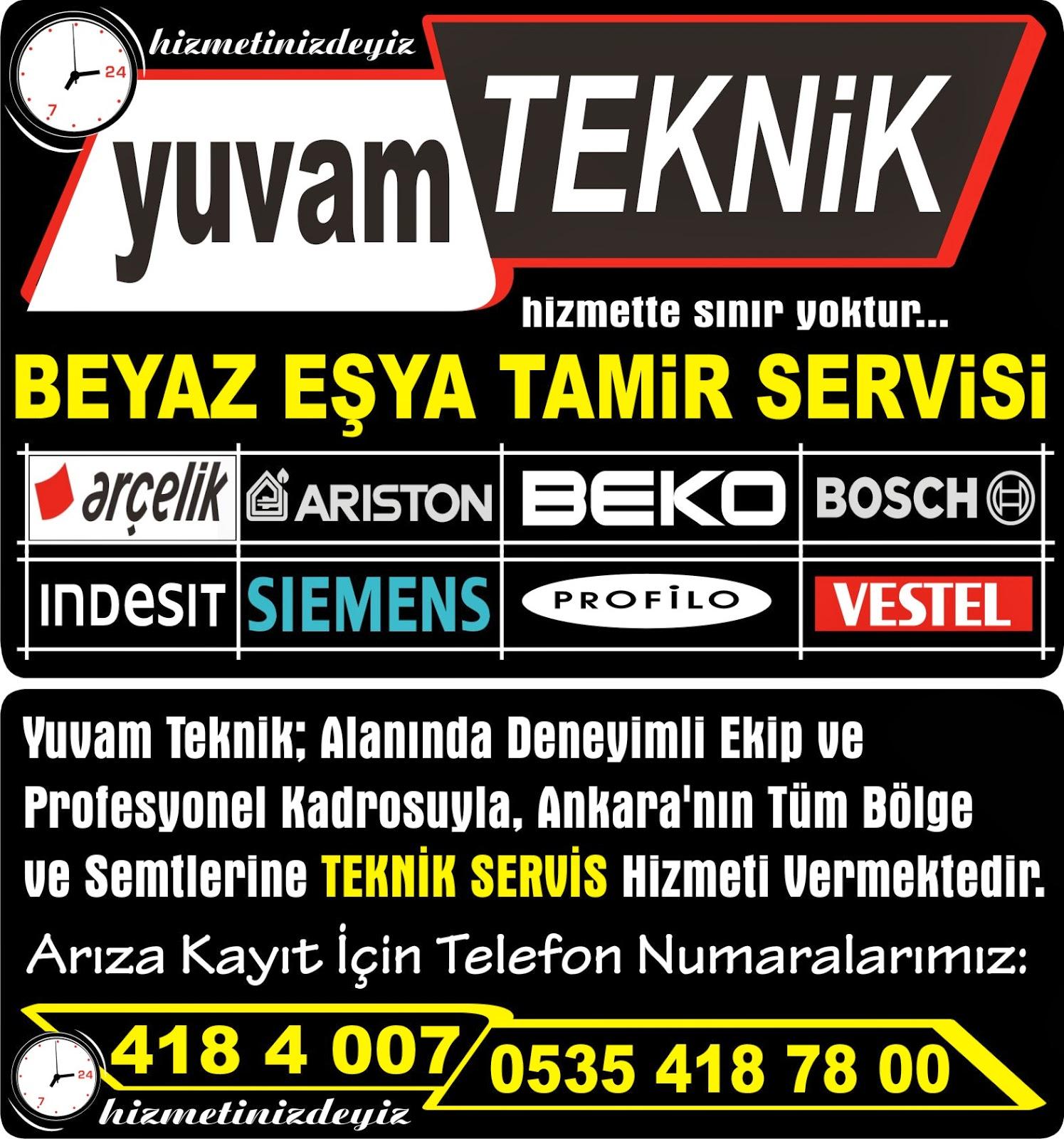 Bosch Yetkili Servis Bahçelievler Ankara