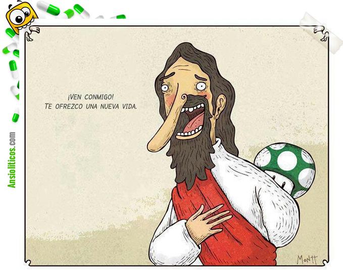 Chiste de Jesucristo: Te ofrezco una nueva vida