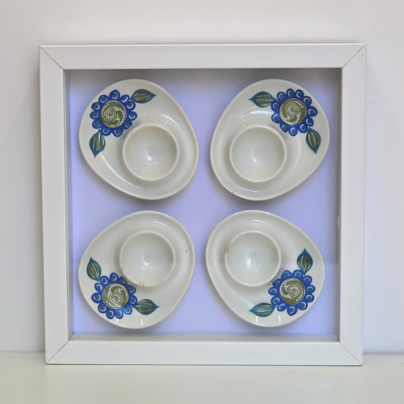 Framed Fijjo Flint egg cups