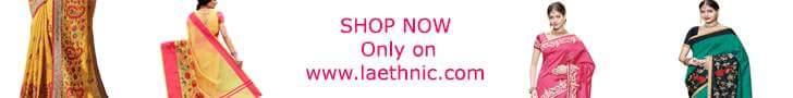 बनारसी साड़ियाँ खरीदें केवल - Laethnic.com/sarees