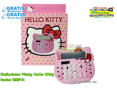 Kalkulator Pinky Hello Kitty