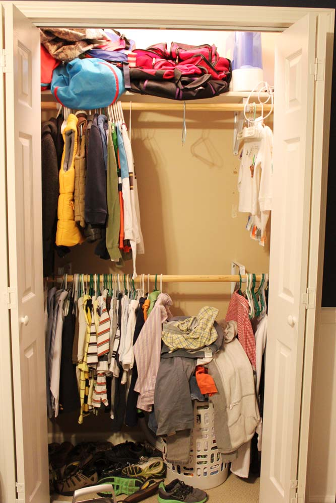 Our Under $100 Closet System U2013 IKEA Hack