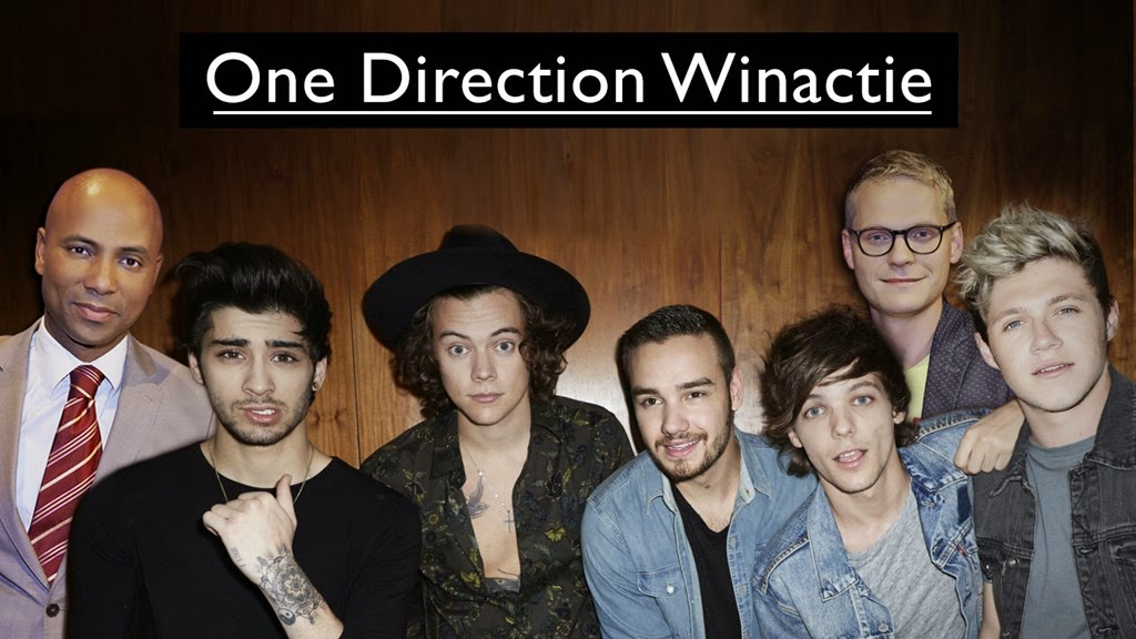 One Direction bij RTL Late Night