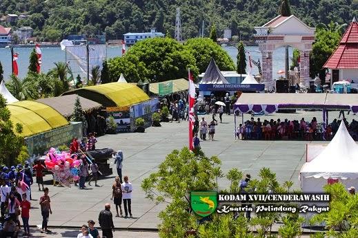 Ribuan warga Manokwari padati areal pameran alutsista