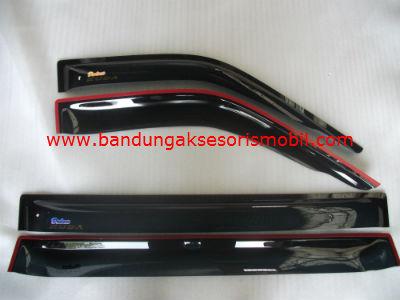 Talang Air Kuda Long Original Black Depan Belakang