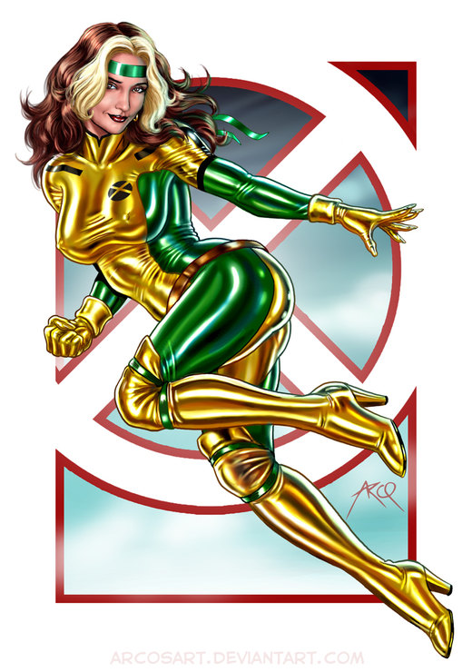 Rogue - Commission por ArcosArt