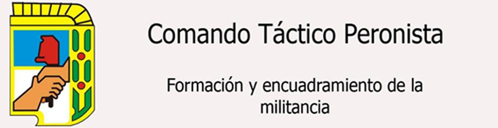 Comando táctico peronista
