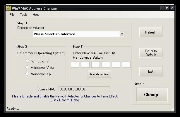 Cambiar la dirección MAC Address en Windows 7