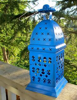 painted lantern