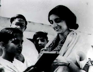 Indira Gandhi Childhood Pictures