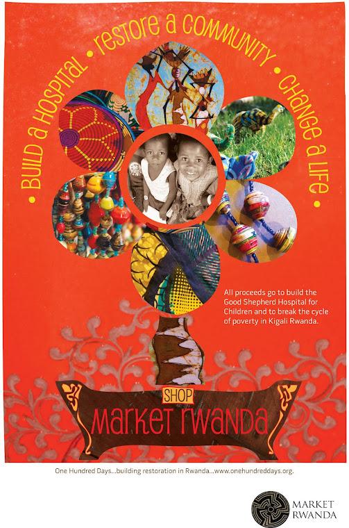 Market Rwanda Poster