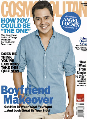 John Lloyd Cruz Cosmopolitan Philippines October 2011 issue