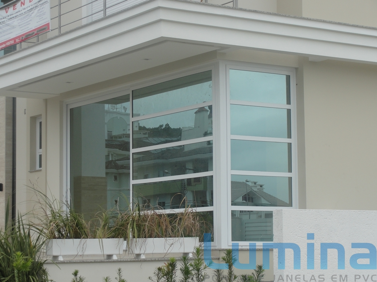 #436E88 Lumina PVC Portas e Janelas Tudo em esquadrias em PVC: Lumina PVC  1928 Janela De Aluminio Tamanho Padrão