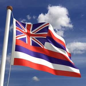 Photo: Hawaii's State Flag