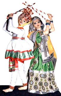 Happy Navratri Shayari, Dandiya, SMS