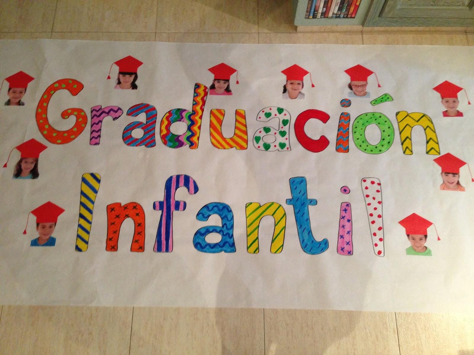 Rebeca creaciones detalles de graduaci n infantil for Como decorar un mural