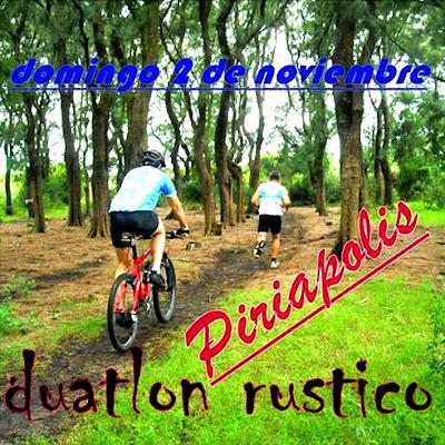 Duatlón rústico Piriaventuras (Piriápolis, Maldonado, 02/nov/2014)