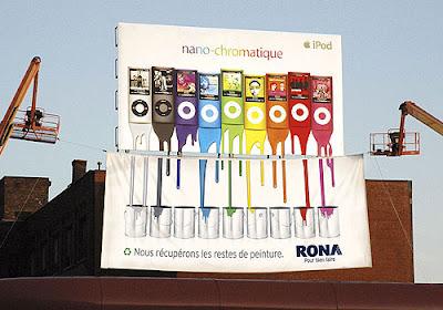 Guérilla marketing, ambush marketing, RONA France vs APPLE