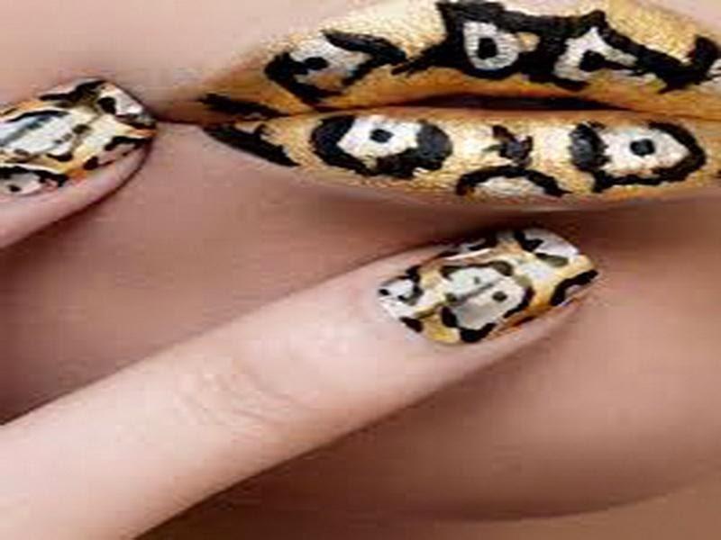 The Exciting Pink cheetah nail designs Digital Photography