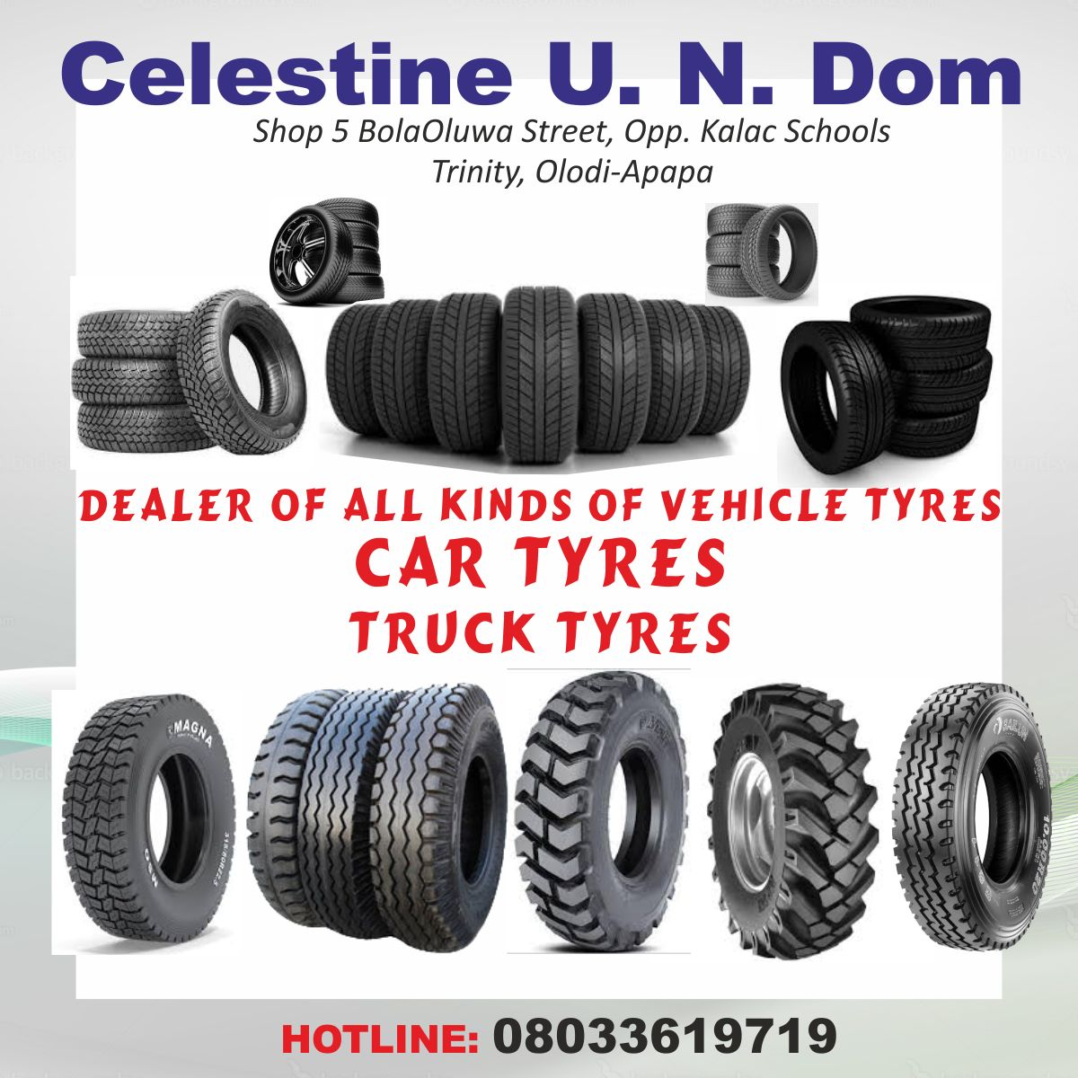 CeleDom Tyres