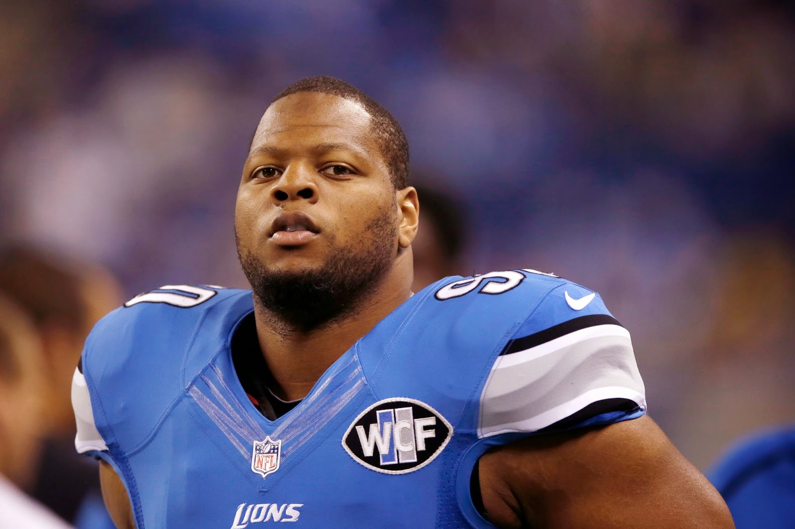 Detroit Lions Ndamukong Suh won't address report he wants to play in New York
