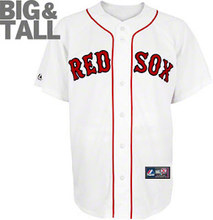 Big and Tall Red Sox Jersey