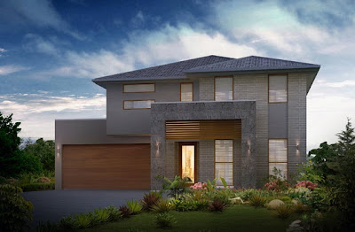 Planos de casas de dos pisos construye hogar for Casas modernas 4 aguas