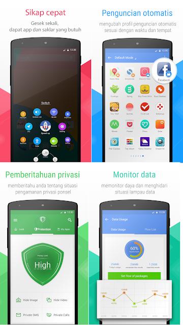 Lindungi privasi smartphone android anda dengan aplikasi LEO Privacy Guard