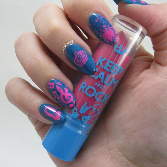Rimmel Keep Calm Lip Balm Review and Nails