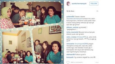 [ShowBiz] Aurel Hermansyah Unggah Foto Makan Bersama Keluarga Pacar