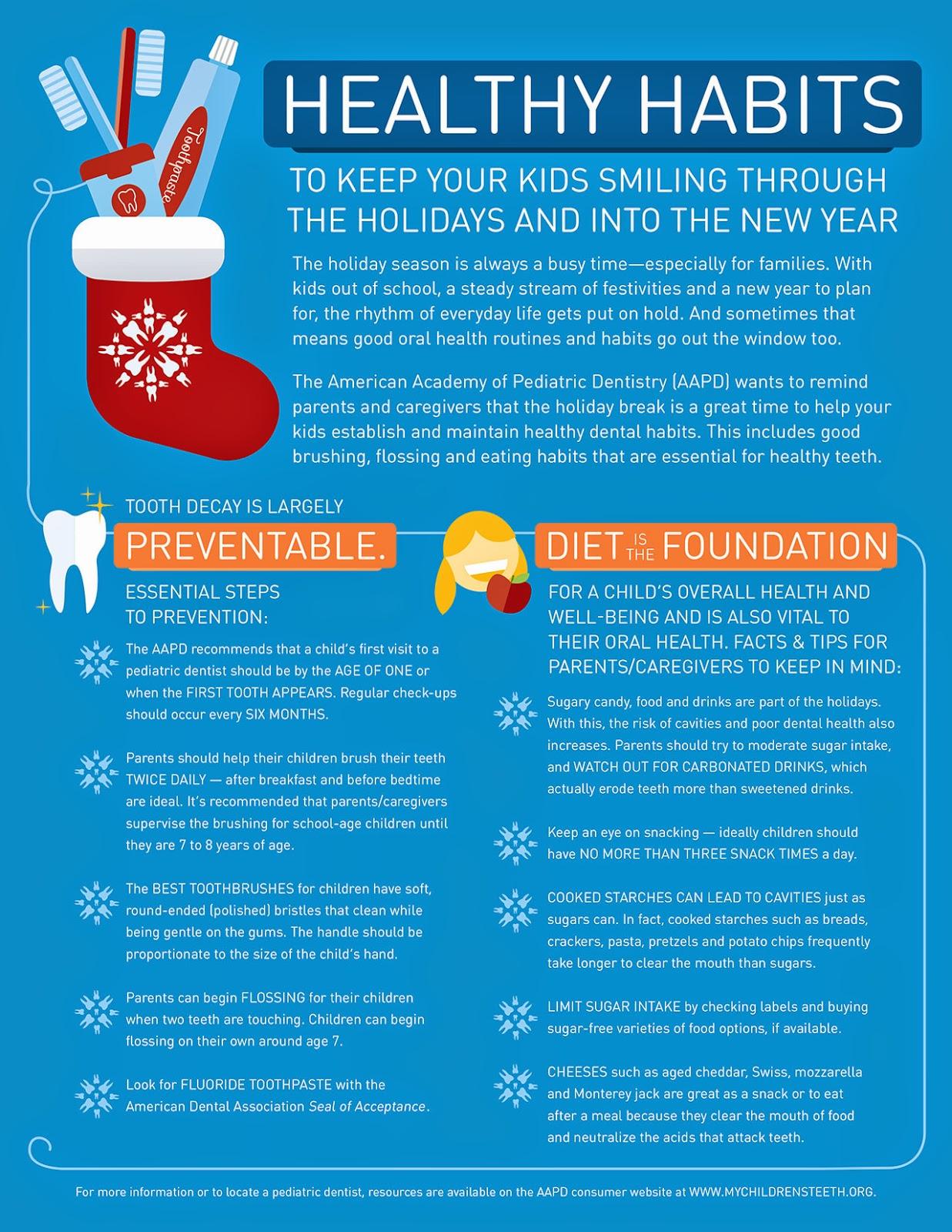healthy habits at the holidays