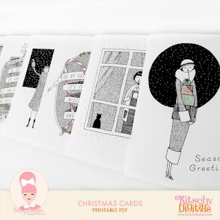 http://kitschydigitals.com/Christmas-Cards.html
