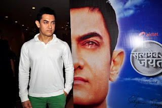 Amir Khan Unveil the Satyamev Jayate Music