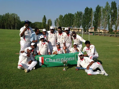Olgiata Cricket Club - 1° Classificato Serie C 2013