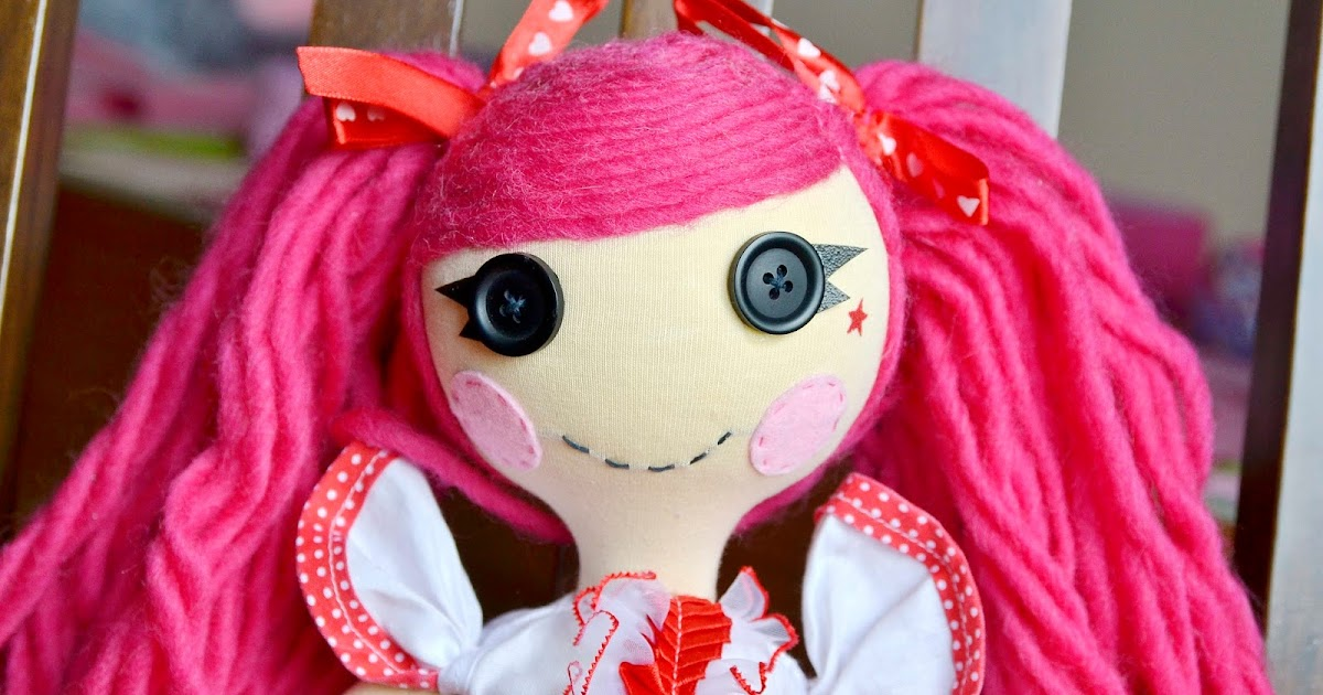 Как сшить платье для куклы лалалупси