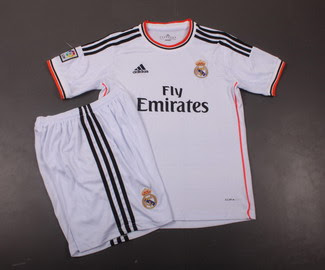 Kostum Terbaru Real Madrid 2013/2014