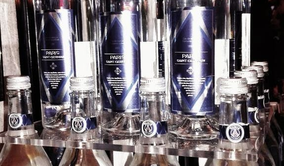 Jolival, agua oficial del PSG