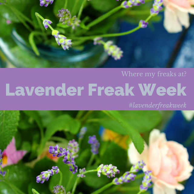 Fresh Lavender Lemonade Recipe #lavenderfreakweek