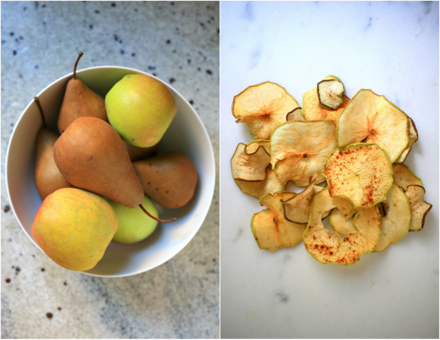 Pear And Apple Chips Recipe — Dishmaps