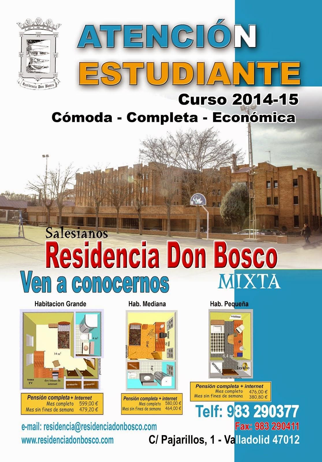 RESIDENCIA DON BOSCO. VA