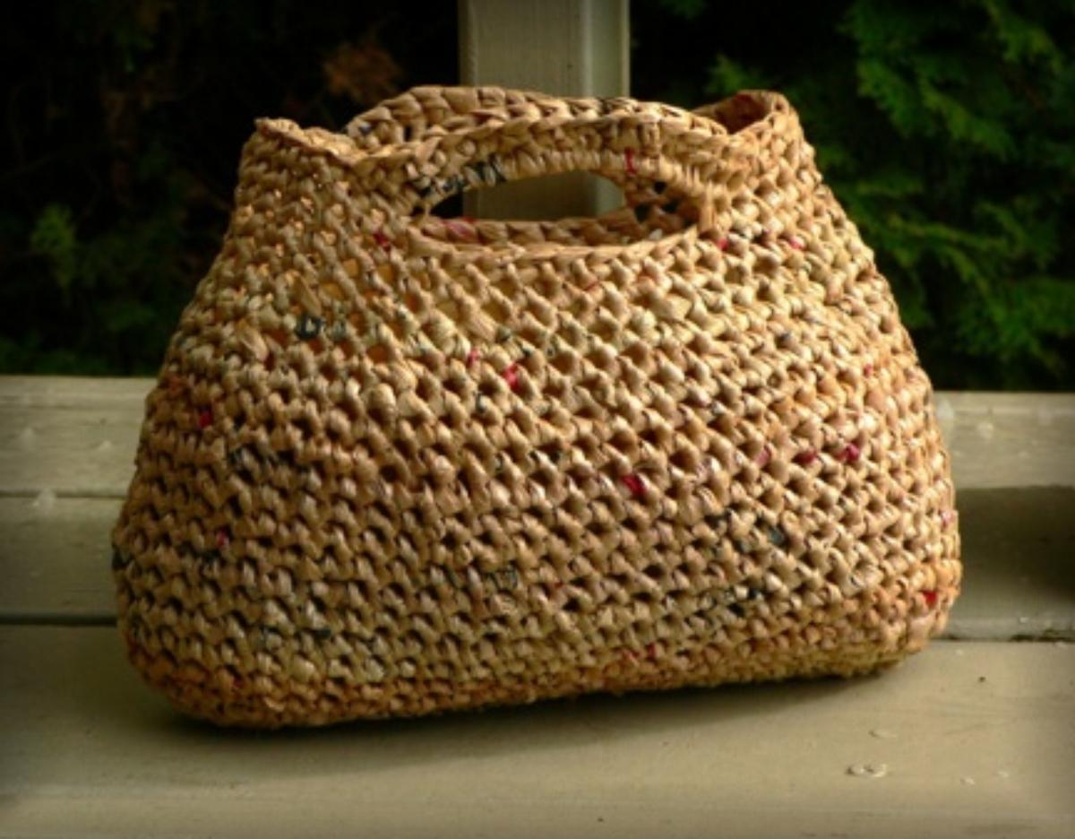 Crochet Plastic Bags Pattern : Tutorial de Artesan?as: Reciclando bolsas pl?sticas