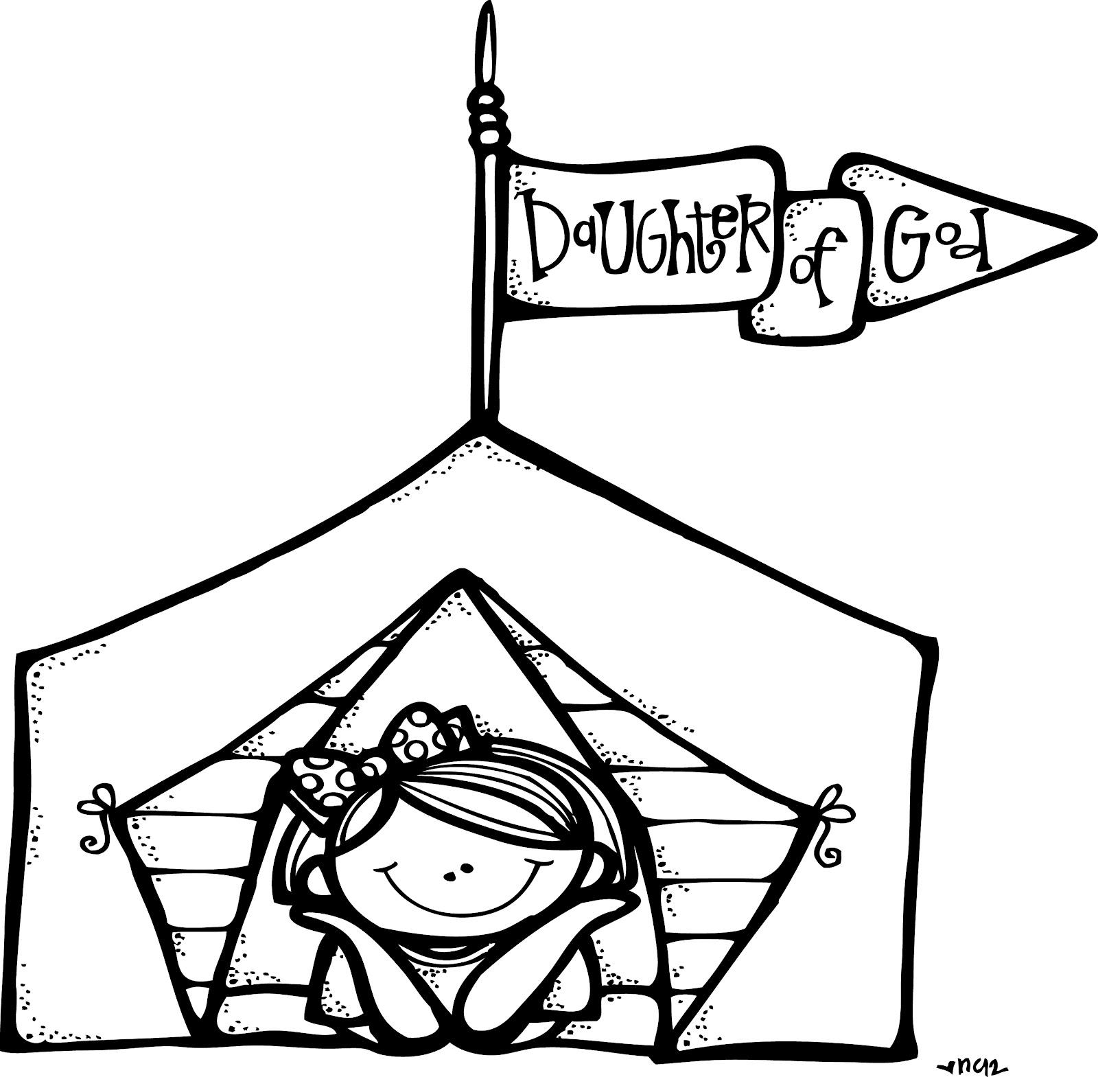 Melonheadz Lds Illustrating Girls Camp Illustrations